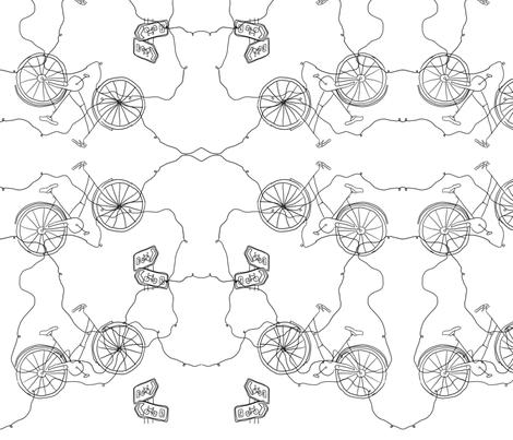 bike fabric by rucifer on Spoonflower - custom fabric
