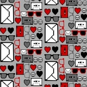 Letters, Glasses and Cassettes