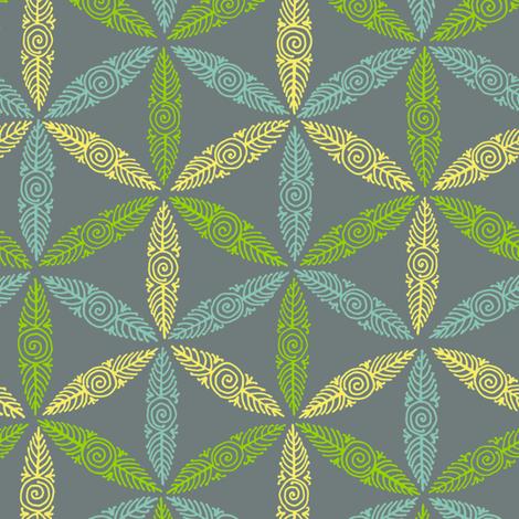 Pysanky triangles - flights of fancy fabric by weavingmajor on Spoonflower - custom fabric