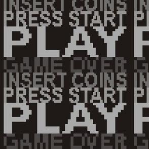 8-bit Play Grey
