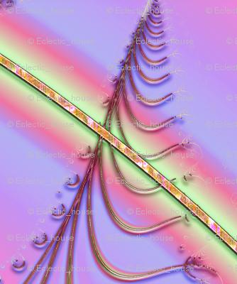 Zigzag Pastel Rainbow, Purple