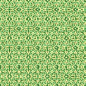 Зеленые спирали, светлый