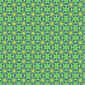 Перья на зеленом