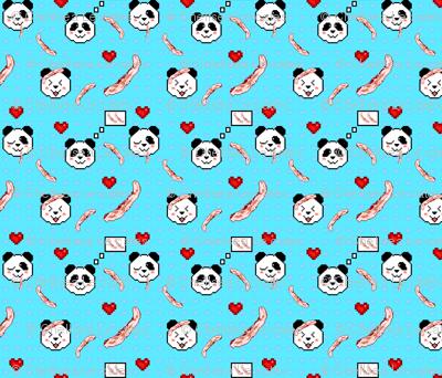 Pandas Love Bacon