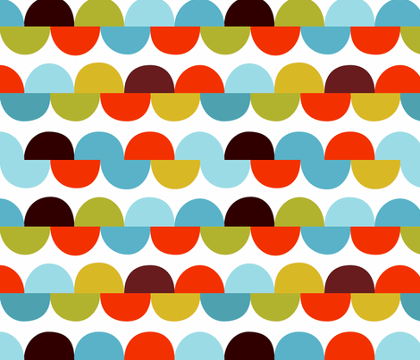 happy - road trip fabric by kurtcyr on Spoonflower - custom fabric