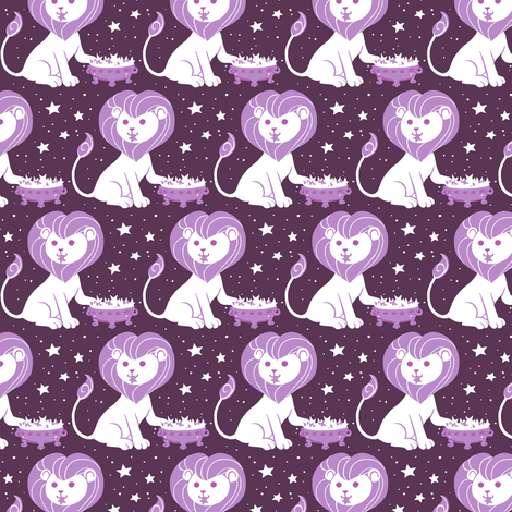Leo fabric by siya on Spoonflower - custom fabric