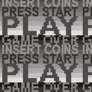 8-bit Arcade Greytone