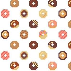 Plain Pixel Donuts