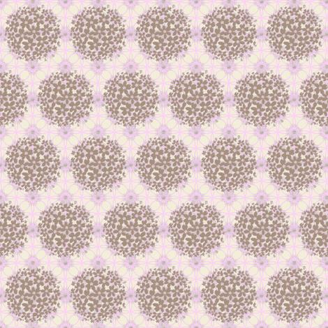 dried hydrengea fabric by keweenawchris on Spoonflower - custom fabric