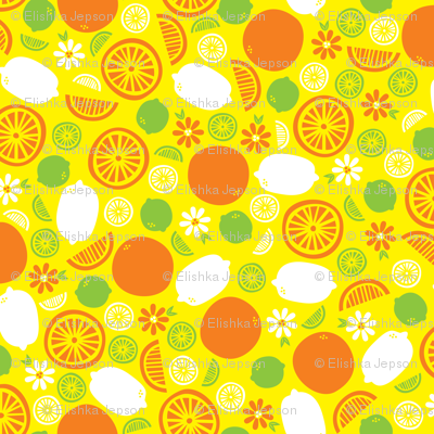A Splash of Citrus (Yellow)