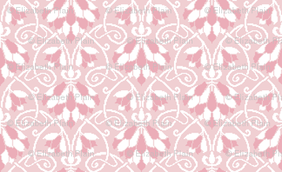 Lotus Vine - pink and white