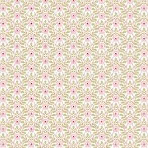 Briar Rose - pale pink and green