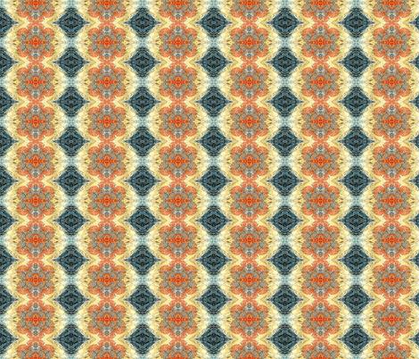 Fieldstone Devonion Rosework fabric by lisaverploeghdesign on Spoonflower - custom fabric