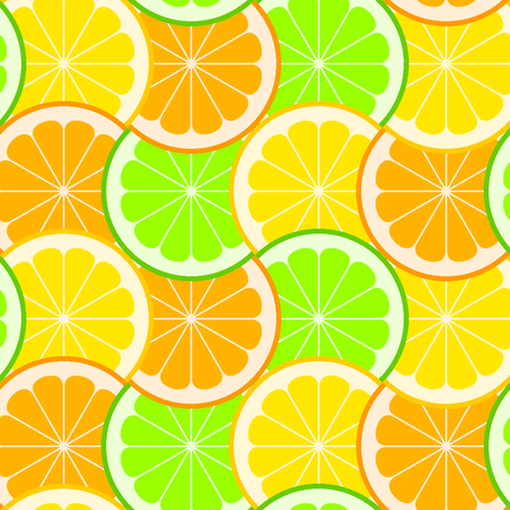 citrus scale 4g fabric by sef on Spoonflower - custom fabric