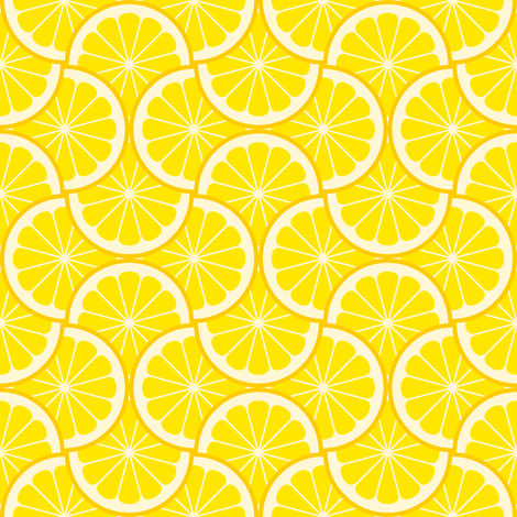 citrus scale 4g X - lemon fabric by sef on Spoonflower - custom fabric