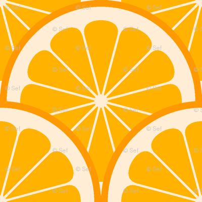 citrus scale 1x X - orange