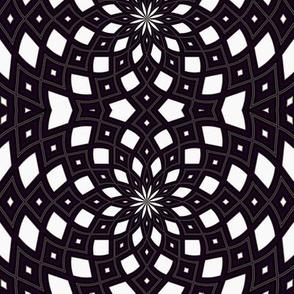Kaleidescope 1257 retrodark r1 k1 white dark violet