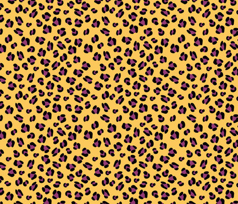 Leopard print in crazy colors fabric by terriaw on Spoonflower - custom fabric