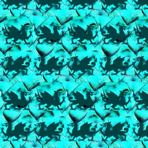 Teal Dragons