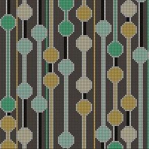 pixelated stripe vertical a
