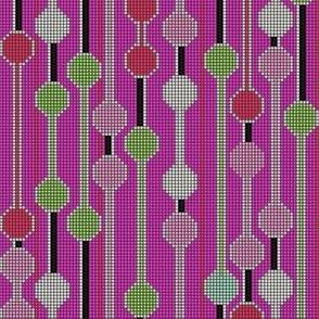 pixelated stripe vertical b