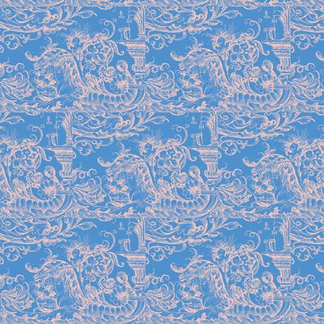 Sea Horses fabric by amyvail on Spoonflower - custom fabric