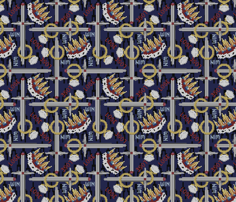 lord_of_the_things_-_subtle fabric by glimmericks on Spoonflower - custom fabric