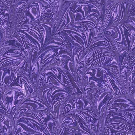 Metallic-Purple-Swirl fabric by modernmarbling on Spoonflower - custom fabric