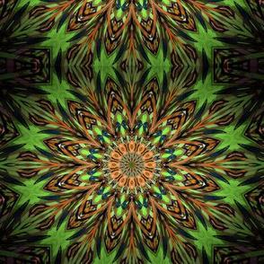 Kaleidescope 0824 k2 retrodark light green