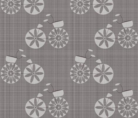 Bike fabric by tarabehlers on Spoonflower - custom fabric