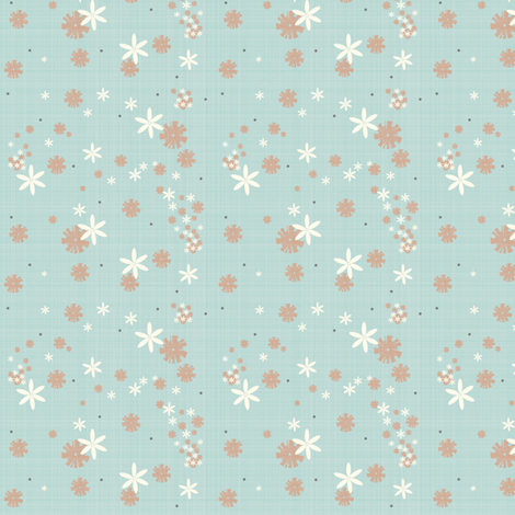 Flowerscatter fabric by tarabehlers on Spoonflower - custom fabric