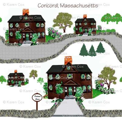 A Drive through Concord, Massachusetts