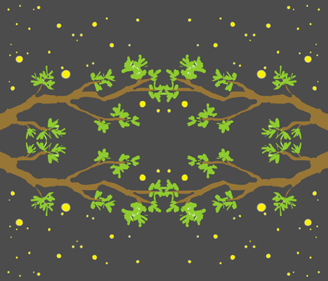 fireflies3 fabric by bring_in_the_platypus on Spoonflower - custom fabric