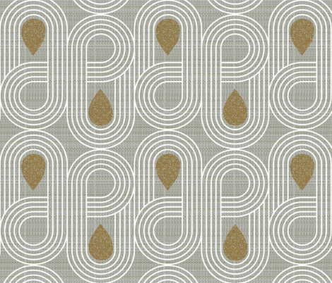 endless highway-mid century modern fabric by ottomanbrim on Spoonflower - custom fabric