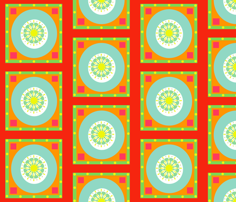 heat advisory fabric by lbehrendtdesigns on Spoonflower - custom fabric