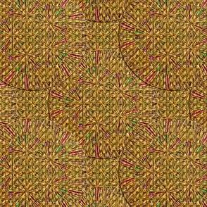 Woven Grass Circles