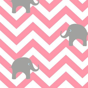 Baby Elephants in Cotton Candy