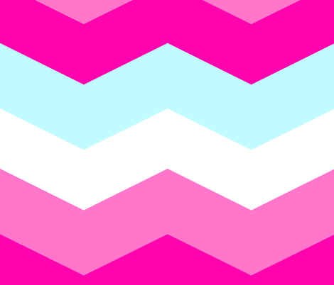 Candy Is Dandy Chevron fabric by peacoquettedesigns on Spoonflower - custom fabric
