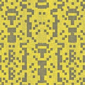 B-botz - yellow and charcoal grey