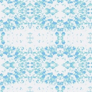 Flower bed blue
