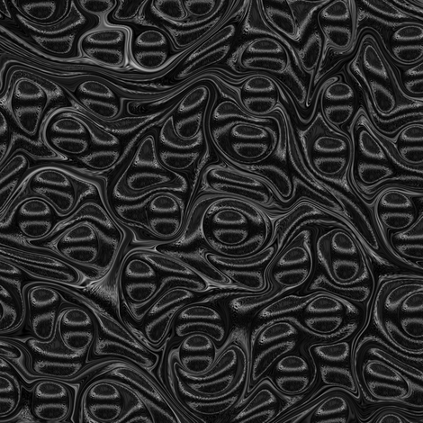 Metallic-Black-Stone fabric by modernmarbling on Spoonflower - custom fabric