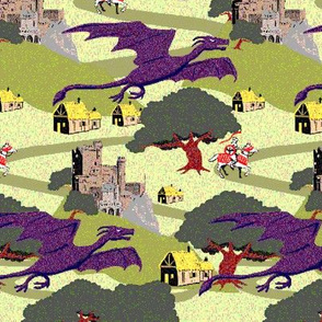 8 bit Dragons color