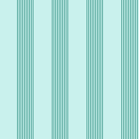 serene stripes (spruce) fabric by weavingmajor on Spoonflower - custom fabric
