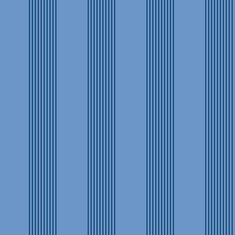 blue twilight stripes fabric by weavingmajor on Spoonflower - custom fabric