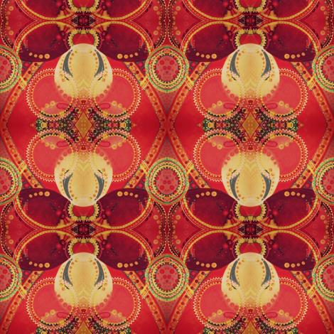Ecstatic Fireflies fabric by loriwierdesigns on Spoonflower - custom fabric