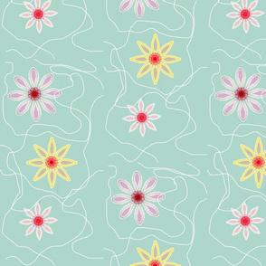 floaty flowers