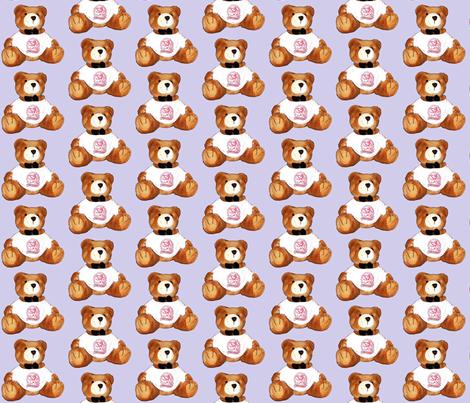 Bear5 fabric by koalalady on Spoonflower - custom fabric