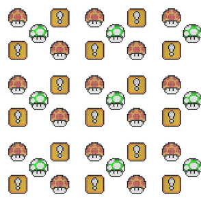 8 Bit Mushroom