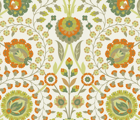 Serpentine 869c fabric by muhlenkott on Spoonflower - custom fabric