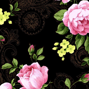 Q_6558-Antique Floral